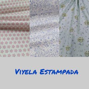 Viyelas/Estampados